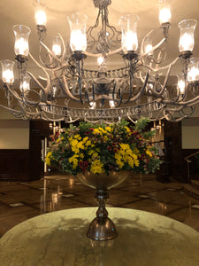 The Houstonian Hotel Lobby and TRIBUTE Arrangements -- November 23, 2020