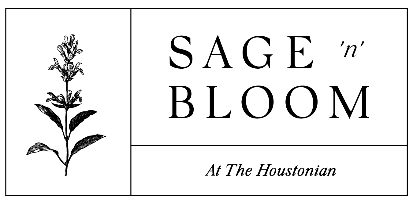 Sage n Bloom The Flower Shop at The Houstonian box logo