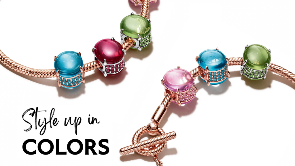 Be bold, be bright with Pandora Colors