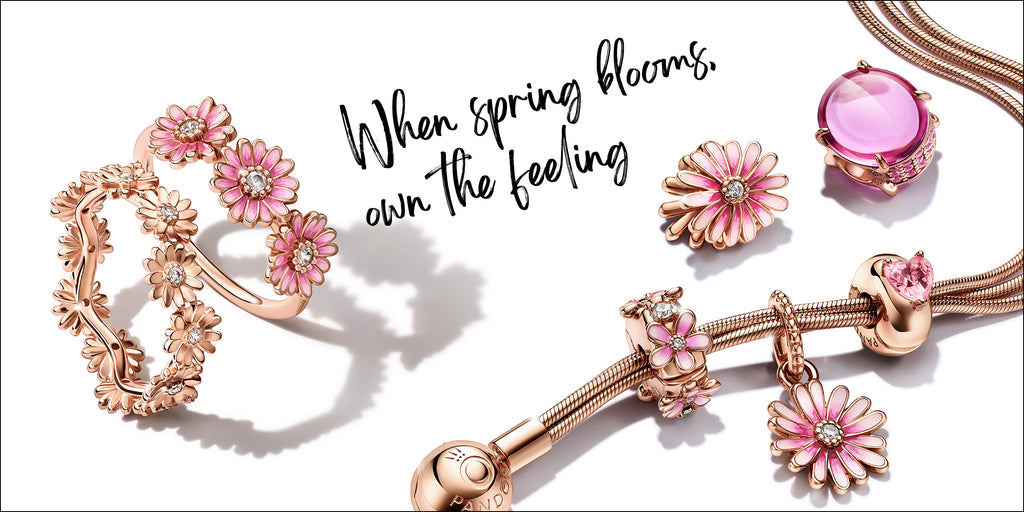 Pandora Rose Spring Jewelry Collection