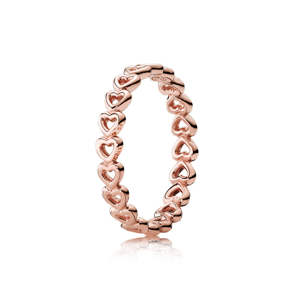 Linked Love Pandora Rose Ring - Pandora Jewelry Las Vegas