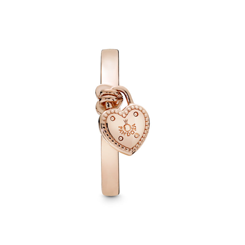 Love Lock Pandora Rose Ring - Pandora Jewelry Las Vegas