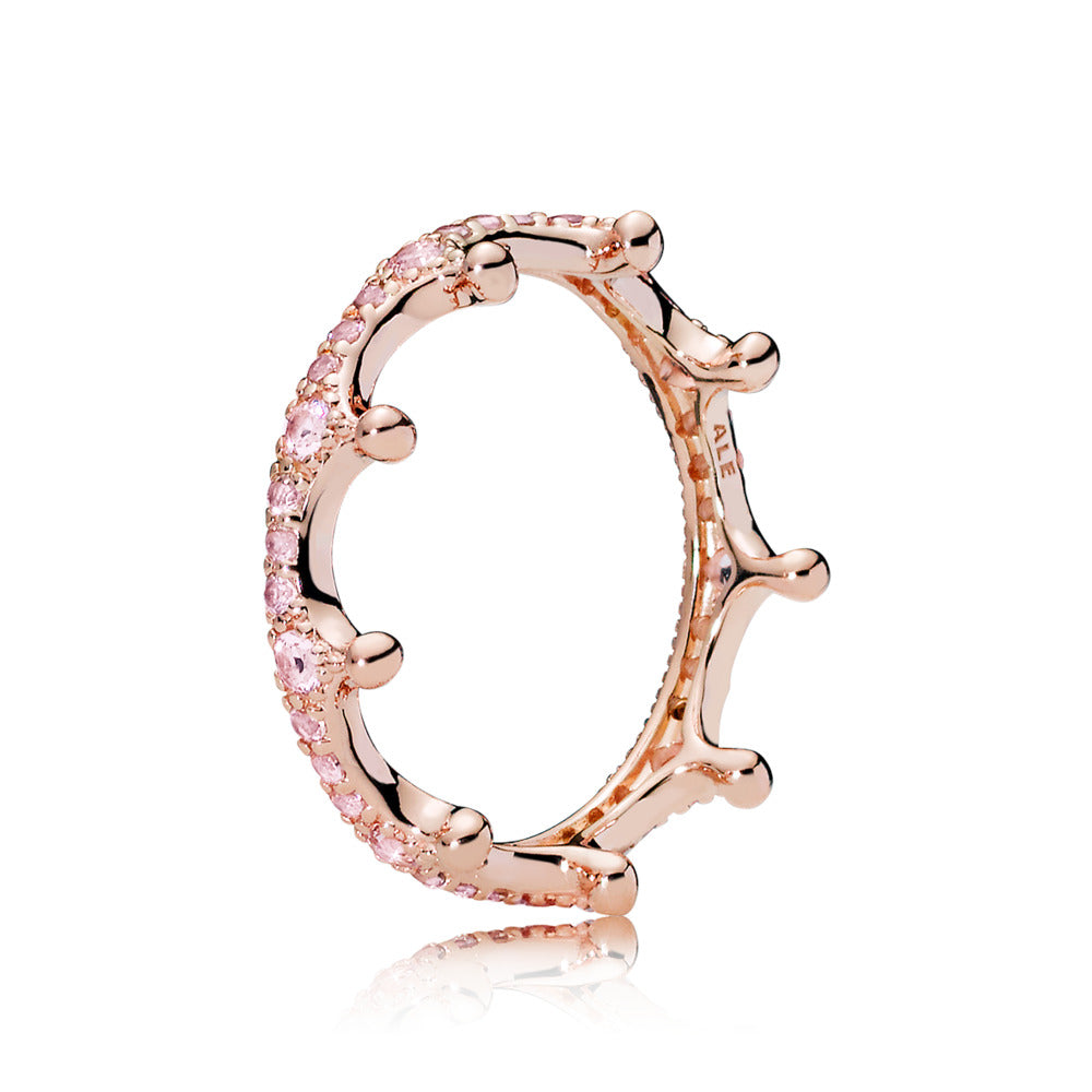 Pink Enchanted Pandora Rose Ring - Pandora Jewelry Las Vegas