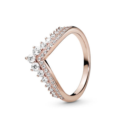 Princess Wishbone Pandora Rose Ring - Pandora Jewelry Las Vegas