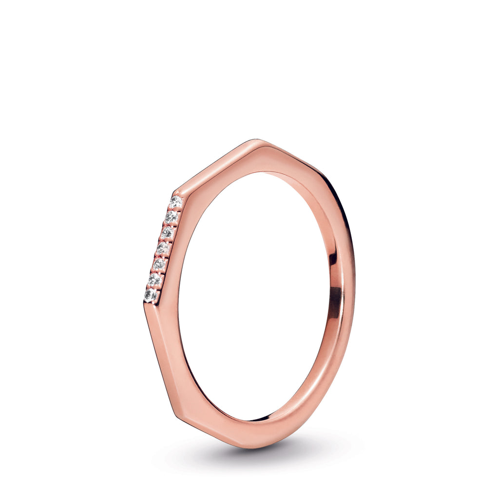Multifaceted Pandora Rose Ring - Pandora Jewelry Las Vegas