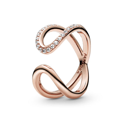 Wrapped Open Infinity Ring - Pandora Jewelry Las Vegas