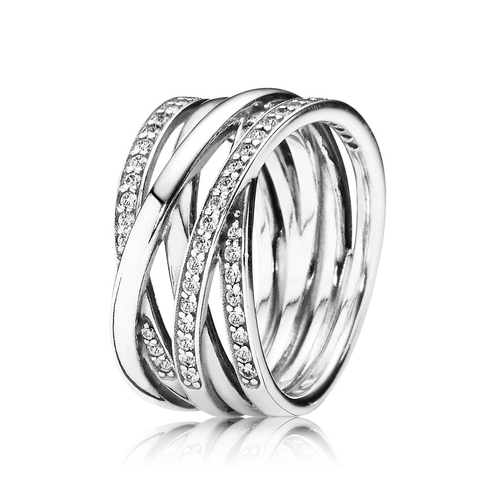 Entwined Ring - Pandora Jewelry Las Vegas