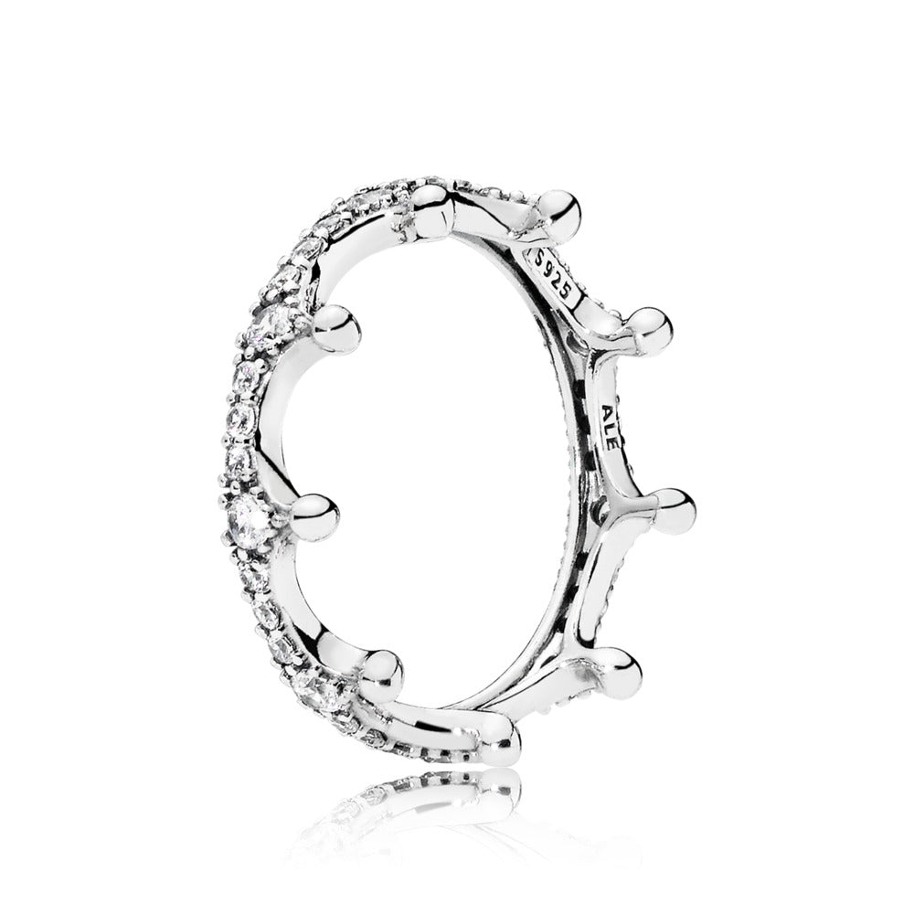 Clear Enchanted Crown Ring - Pandora Jewelry Las Vegas