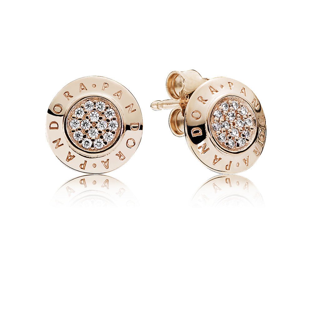Pandora Signature Pandora Rose Earrings - Earring - Pandora Las Vegas Jewelry