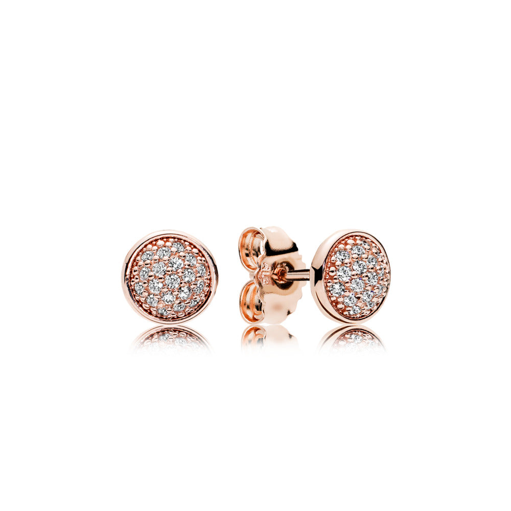 Dazzling Droplets Pandora Rose Stud Earrings - Pandora Jewelry Las Vegas