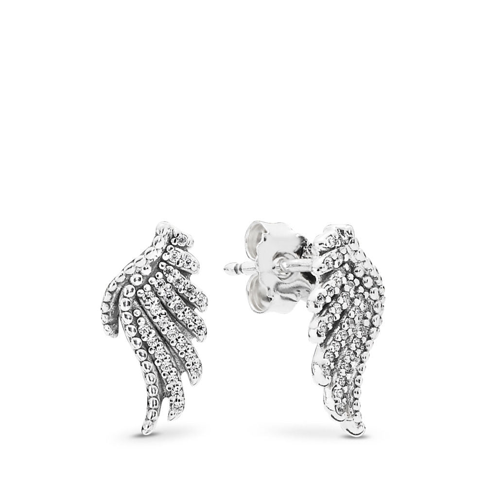 Majestic Feathers Dangle Earrings - Earring - Pandora Las Vegas Jewelry