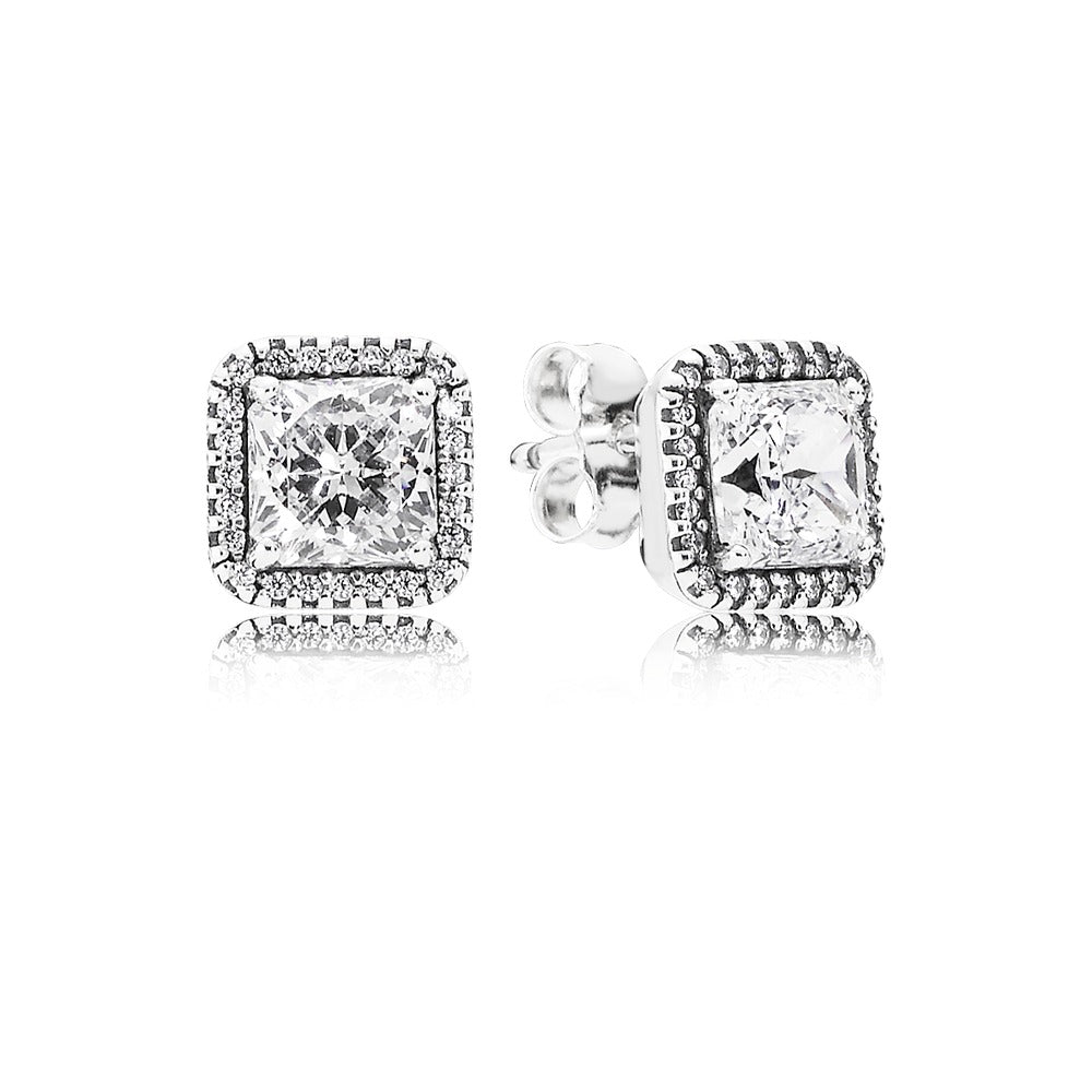 Timeless Elegance Stud Earrings - Pandora Jewelry Las Vegas