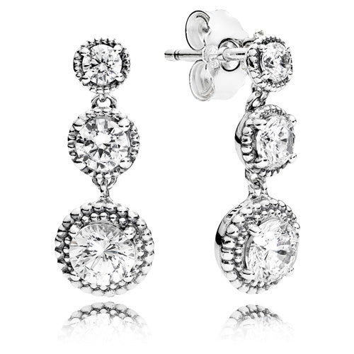 Eternal Elegance Dangle Earrings - Earring - Pandora Las Vegas Jewelry