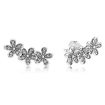 Dazzling Daisies Stud Climber Earrings - Pandora Jewelry Las Vegas
