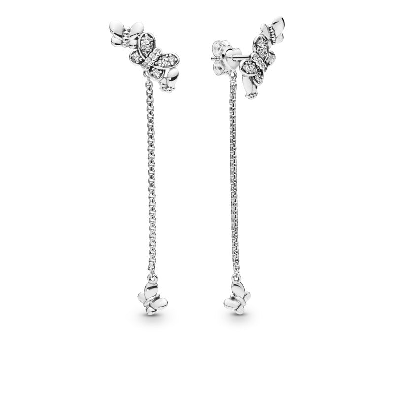 Bedazzling Butterfly Earrings - Earring - Pandora Las Vegas Jewelry