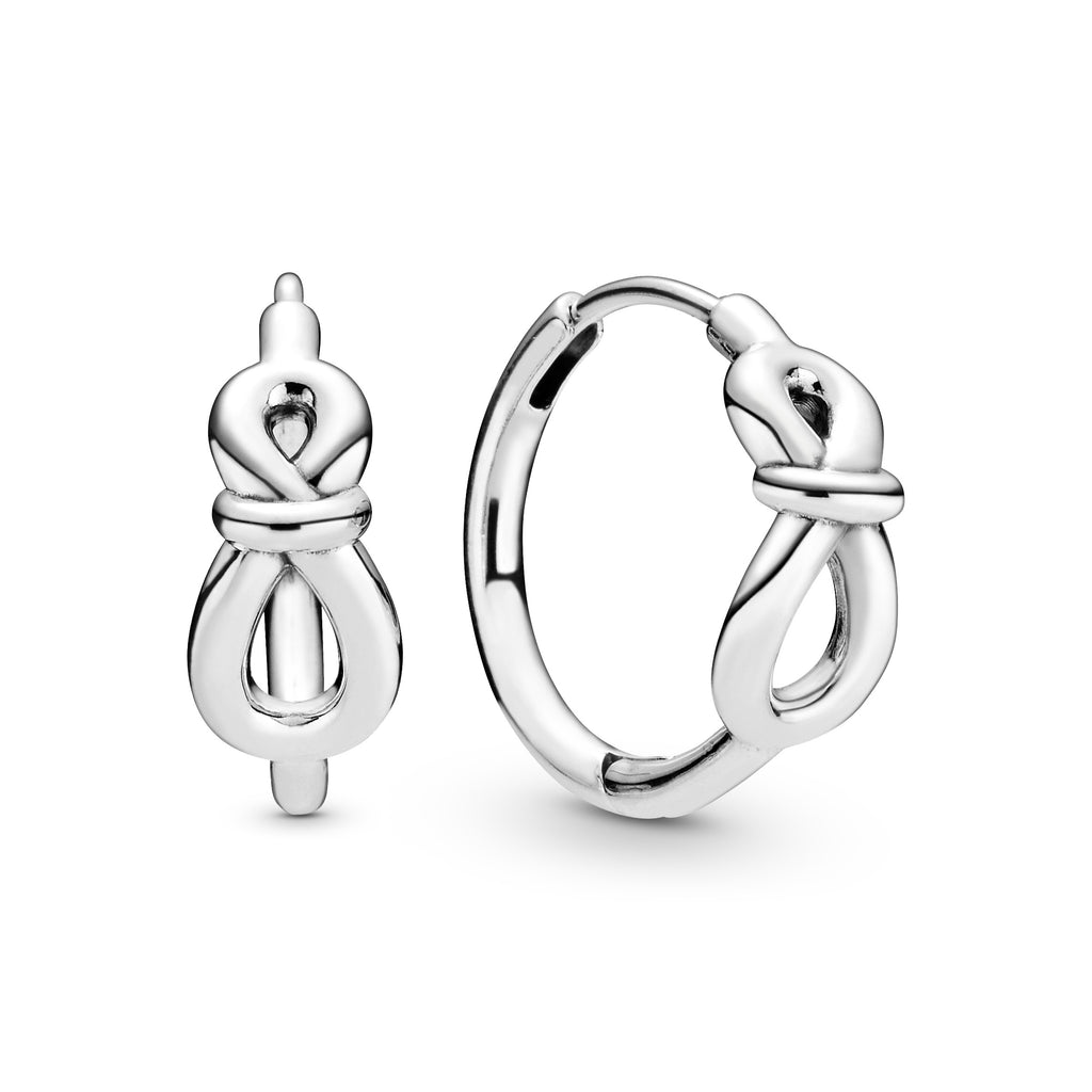 Infinity Knot Hoop Earrings - Pandora Jewelry Las Vegas