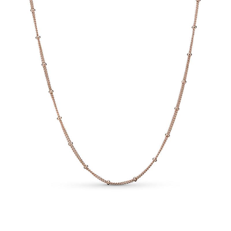 Beaded Chain Necklace Pandora Rose - Pandora Jewelry Las Vegas