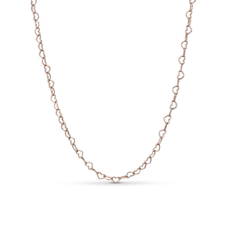 Pandora Rose Joined Hearts Chain Necklace - Necklace - Pandora Las Vegas Jewelry