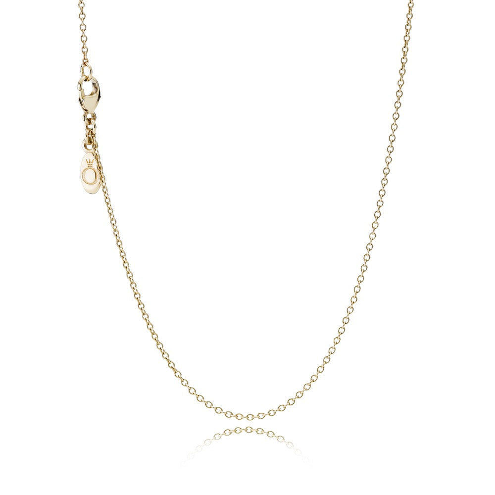 Classic Anchor Chain 14k Gold Necklace - Pandora Jewelry Las Vegas