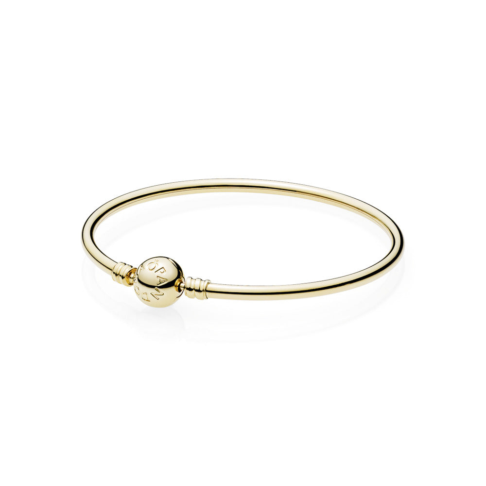 Pandora Moments 14k Gold Bangle - Pandora Jewelry Las Vegas