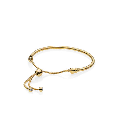 Pandora Shine™ Bracelet with Clear CZ Sliding Clasp - Pandora Jewelry Las Vegas