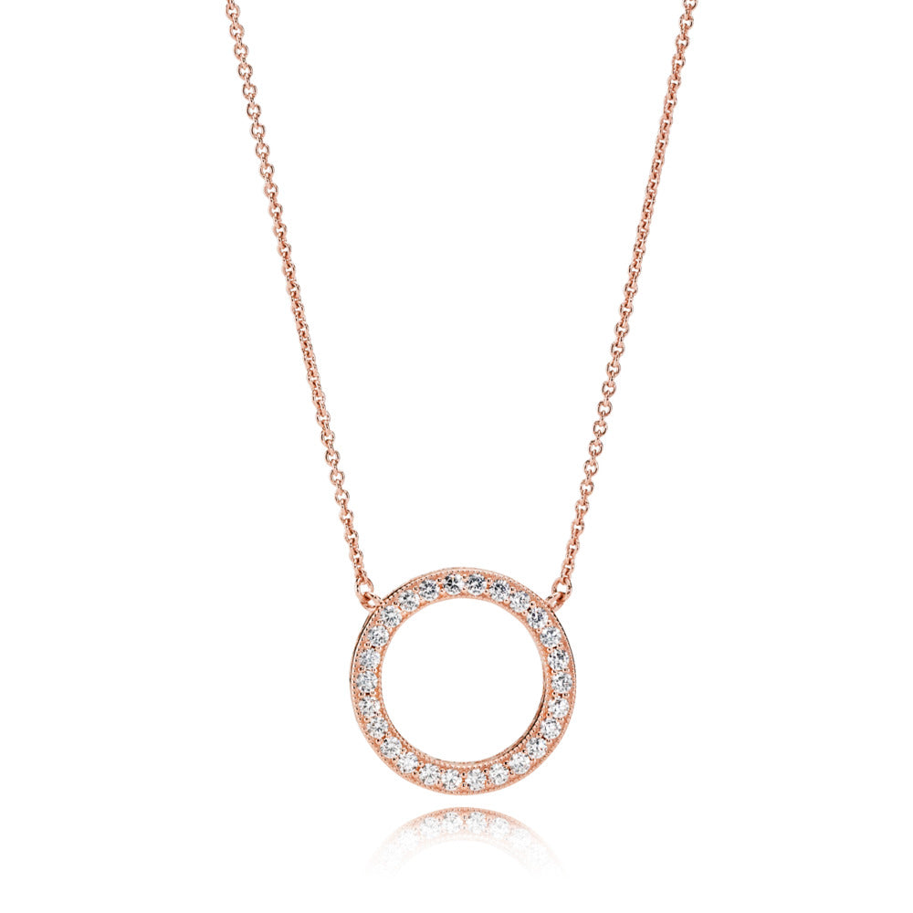 Hearts Of Pandora Rose Necklace - Pandora Jewelry Las Vegas