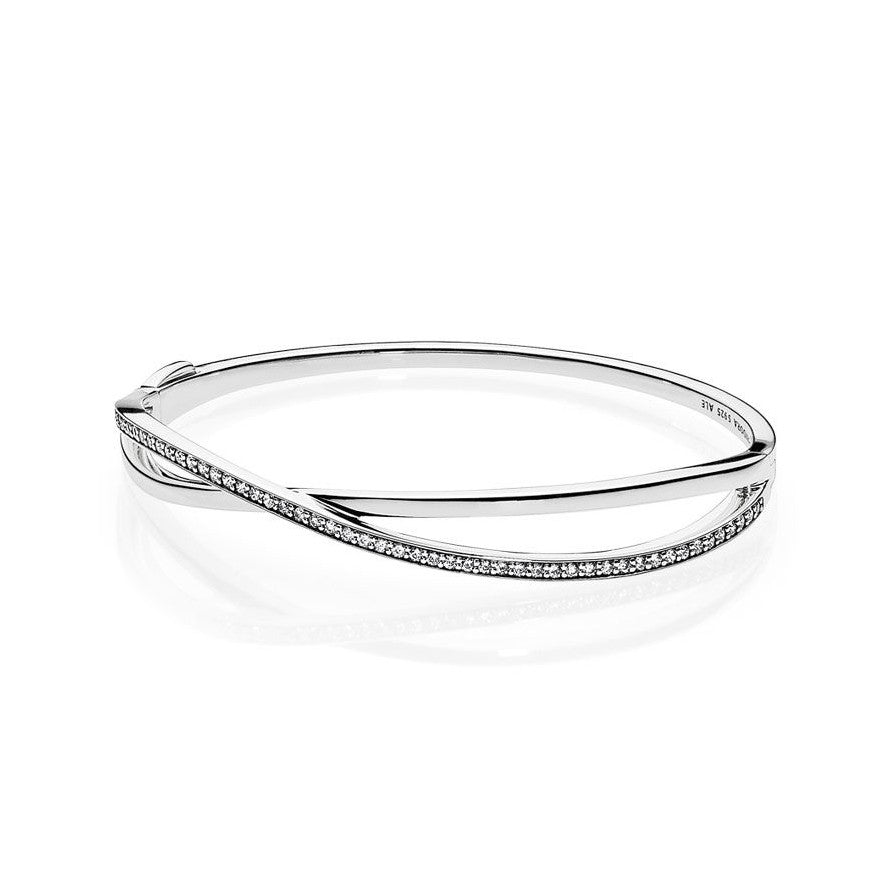 Entwined Bangle Bracelet - Pandora Jewelry Las Vegas