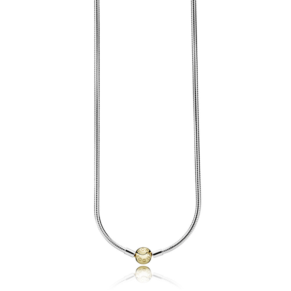 Pandora Moments Snake Chain Necklace with 14k Gold - Necklace - Pandora Las Vegas Jewelry