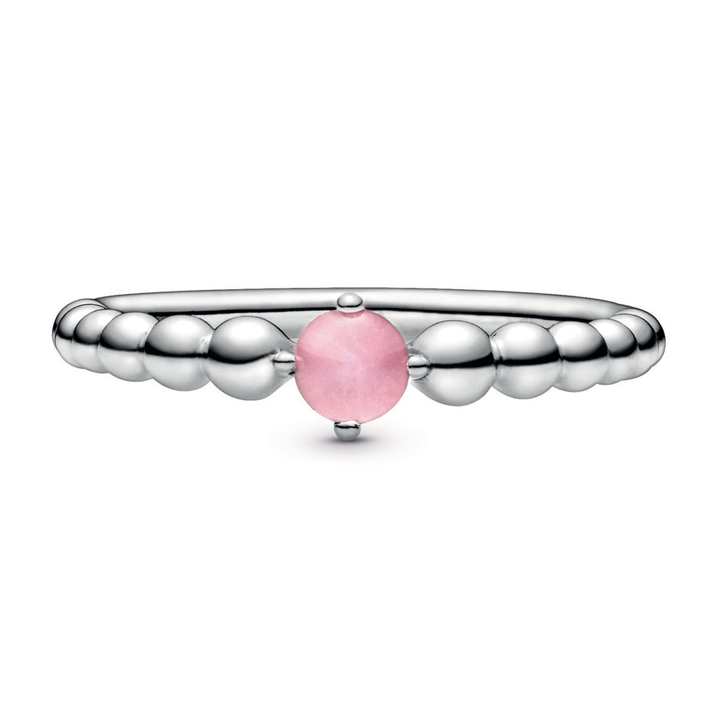 Petal Pink Beaded Ring - Pandora Jewelry Las Vegas