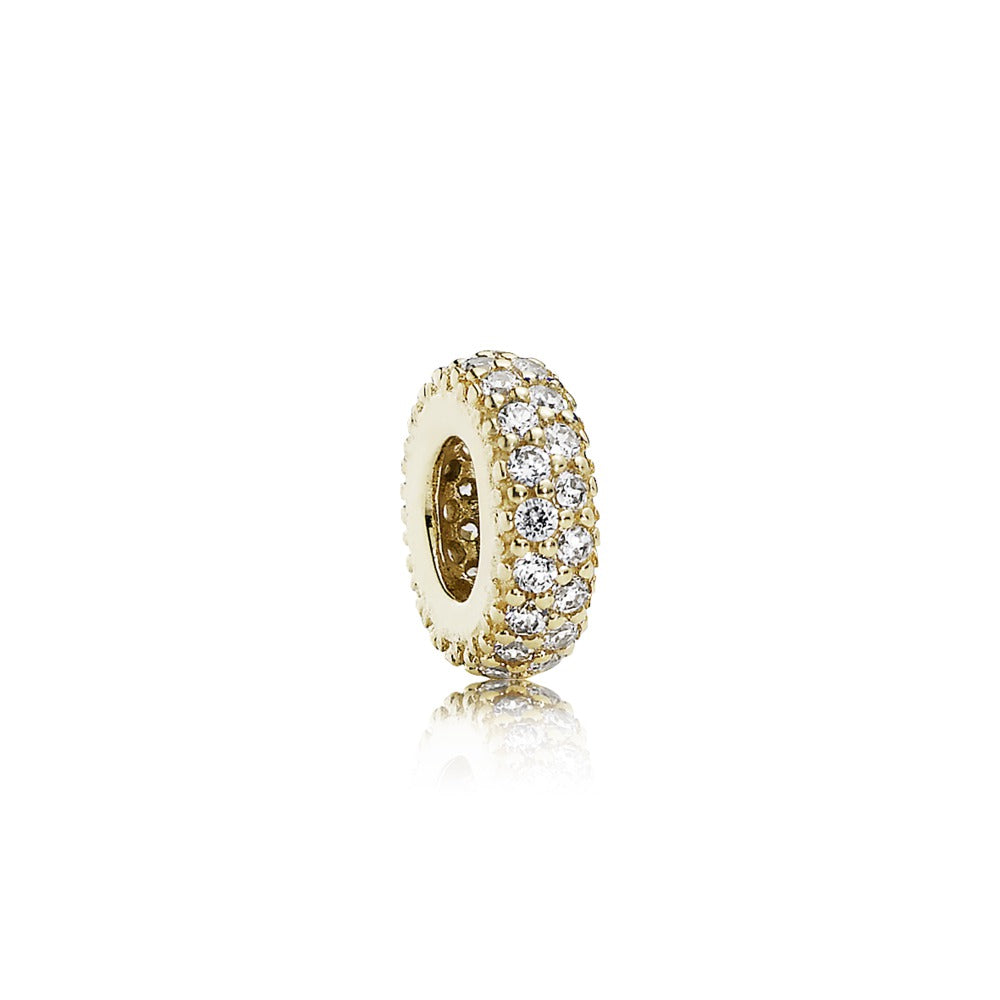 Inspiration Within 14k Gold Spacer Charm - Pandora Jewelry Las Vegas