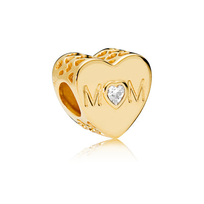 Mother Heart Pandora Shine Charm - Pandora Jewelry Las Vegas