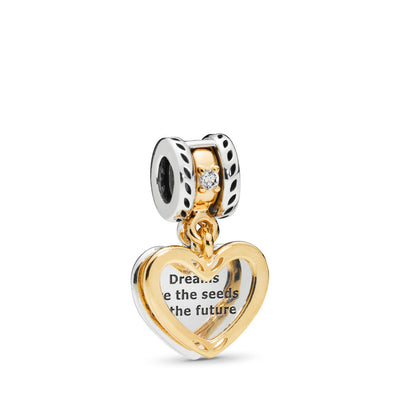 Seeds of the Future Dangle Charm with Pandora Shine - Pandora Jewelry Las Vegas