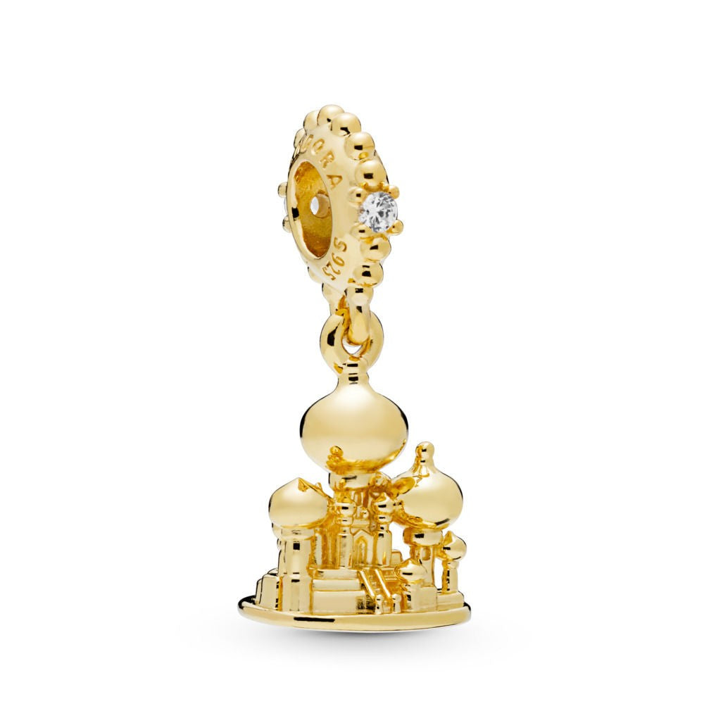 Disney Agrebah Castle Pandora Shine Dangle Charm