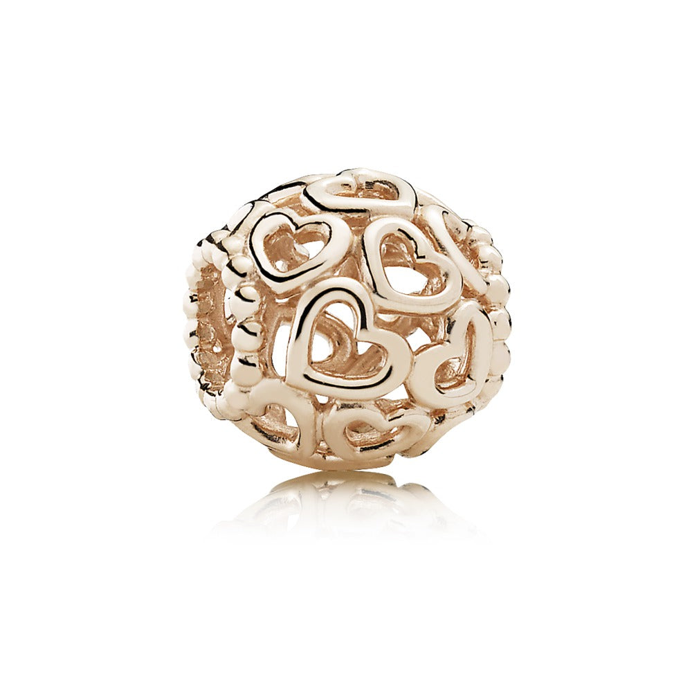 Open Your Heart Pandora Rose Charm - Pandora Jewelry Las Vegas