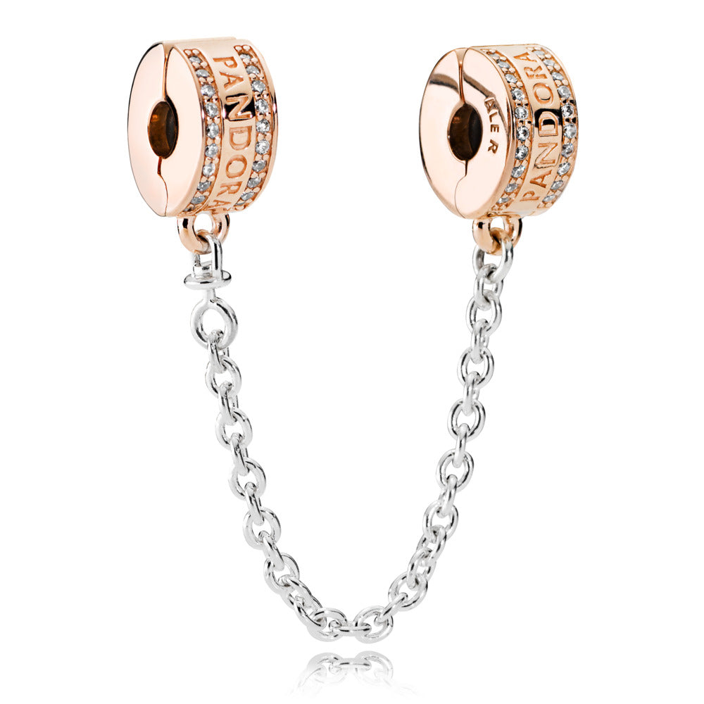 Pandora Rose Logo Safety Chain - Pandora Jewelry Las Vegas