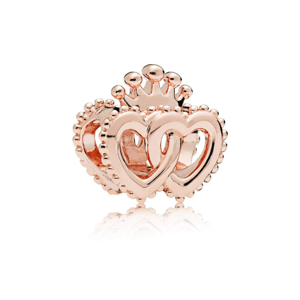 United Regal Hearts Pandora Rose Charm - Pandora Jewelry Las Vegas
