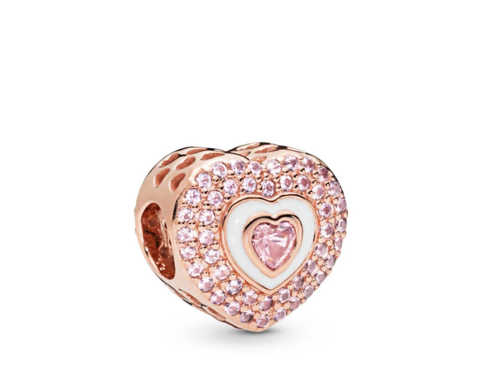 Hearts On Hearts Pandora Rose Charm - Pandora Jewelry Las Vegas