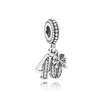 40 Years Of Love Dangle Charm - Charm - Pandora Las Vegas Jewelry