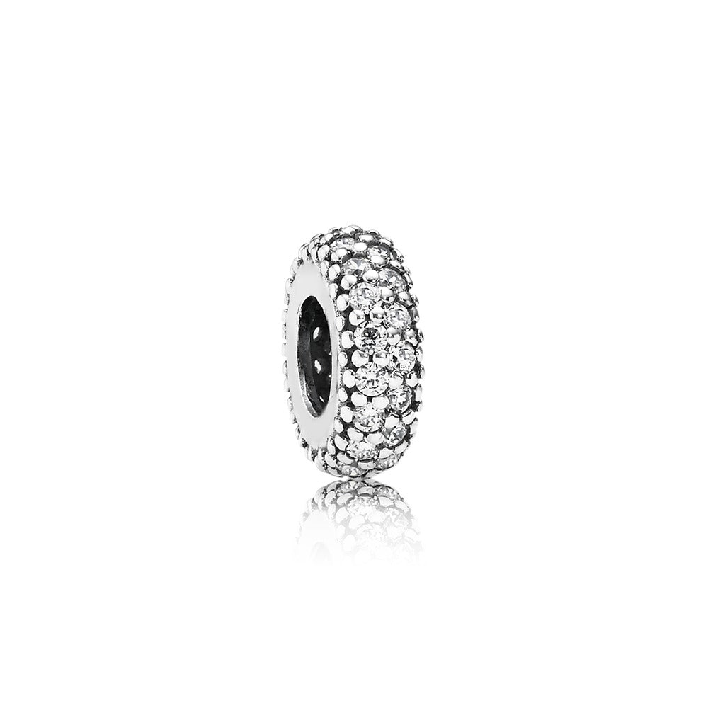 Inspiration Within Spacer Charm with Clear Cz - Pandora Jewelry Las Vegas