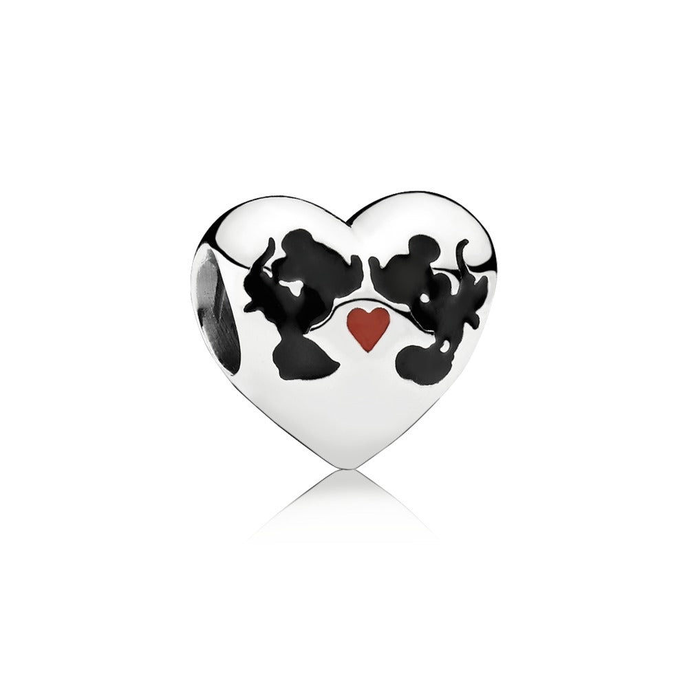 Disney Minnie & Mickey Kiss Charm - Pandora Jewelry Las Vegas