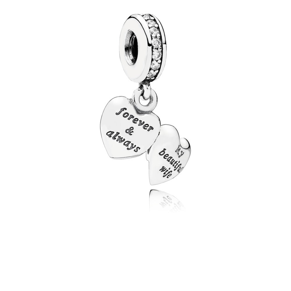 My Beautiful Wife Dangle Charm - Pandora Jewelry Las Vegas