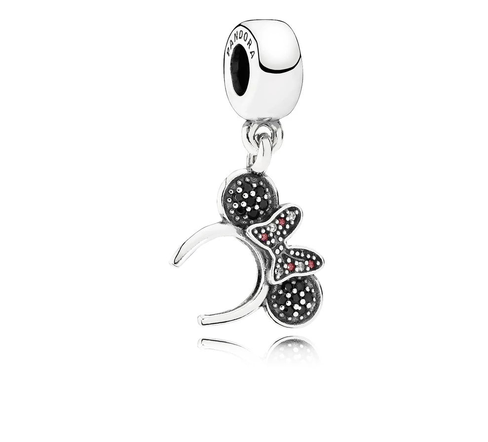 Disney Minnie Headband Dangle Charm - Pandora Jewelry Las Vegas