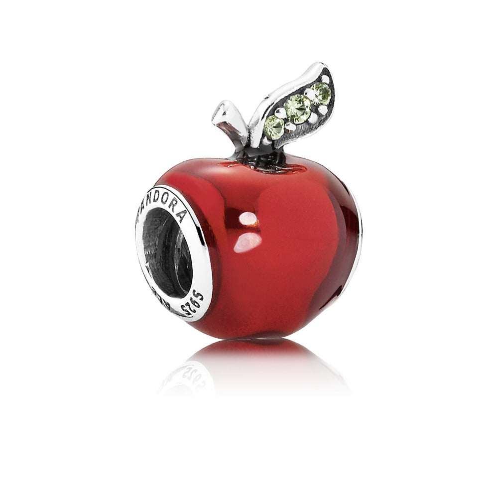 Disney Snow White's Apple Enamel Charm - Pandora Jewelry Las Vegas