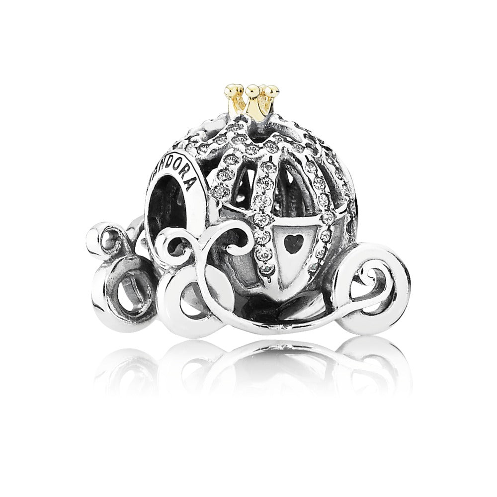 Disney Cinderella's Pumpkin Coach with 14k Gold - Pandora Jewelry Las Vegas