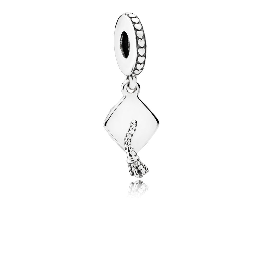 Graduation Cap Dangle Charm - Pandora Jewelry Las Vegas