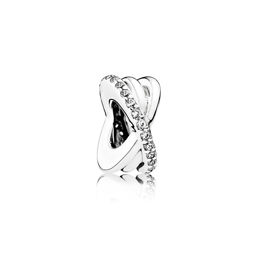 Galaxy Spacer Charm with Clear CZ - Pandora Jewelry Las Vegas
