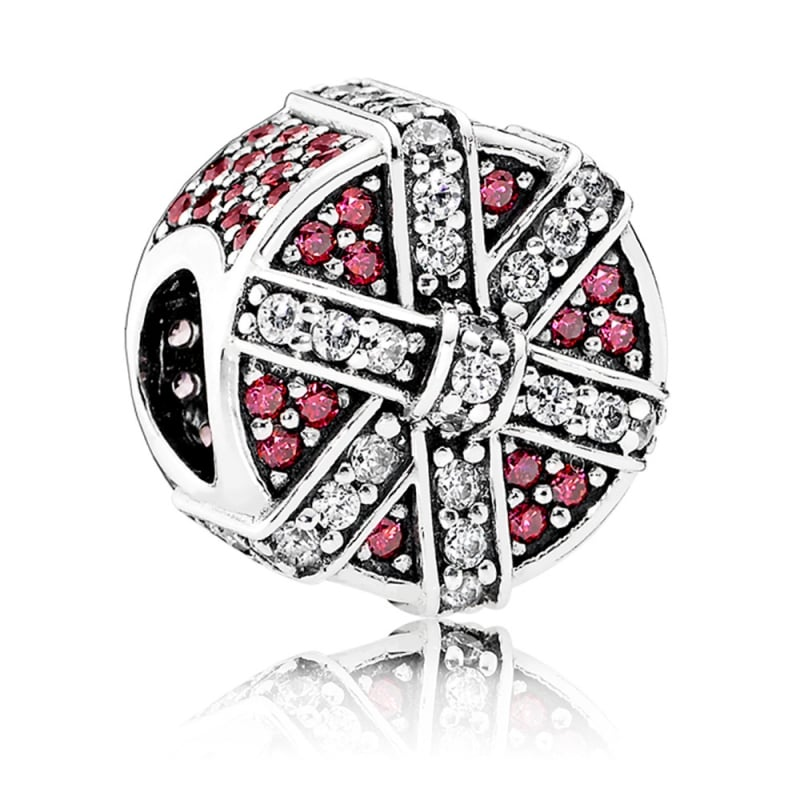 Shimmering Red Gift Charm - Pandora Jewelry Las Vegas