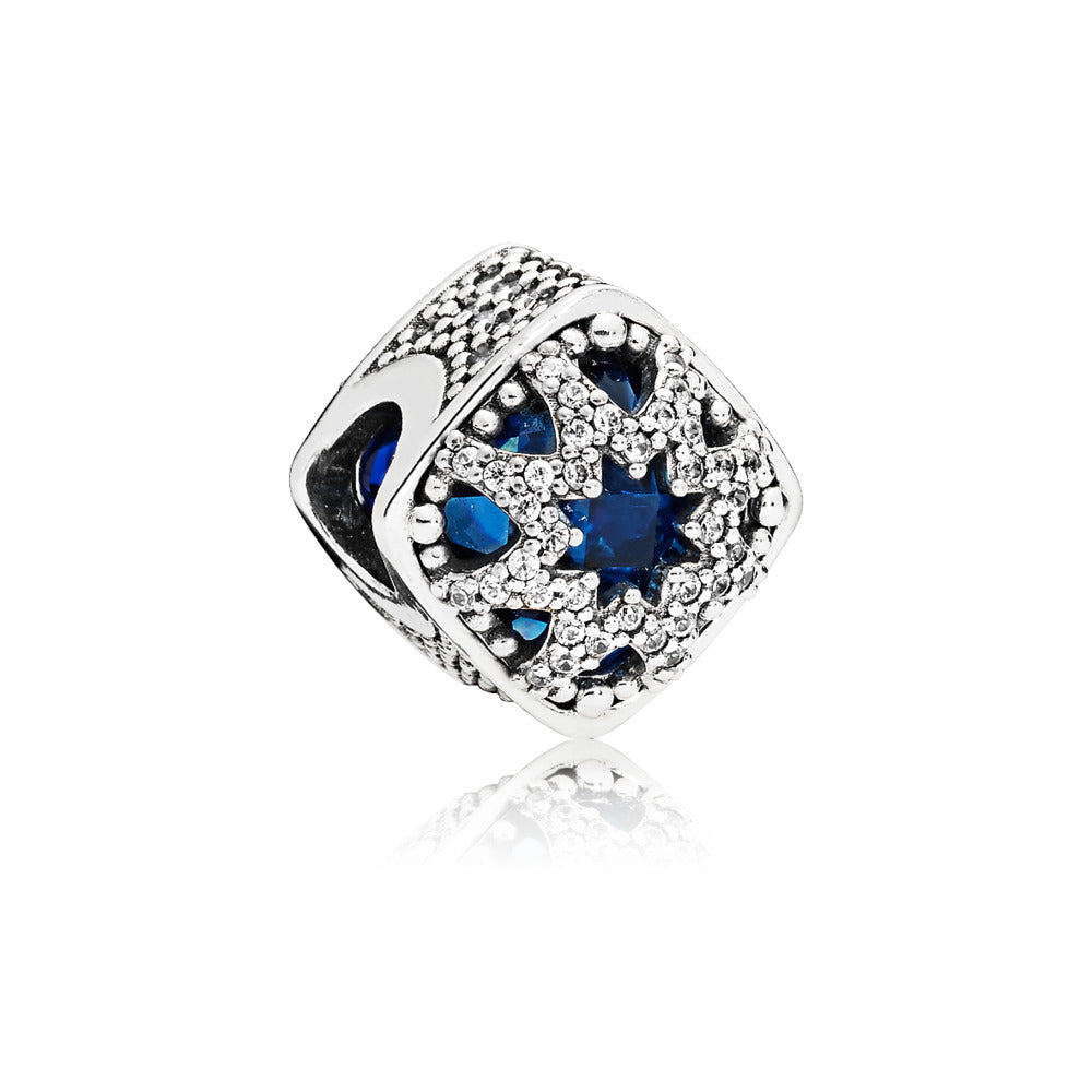Glacial Beauty Charm with Blue Crystal - Pandora Jewelry Las Vegas