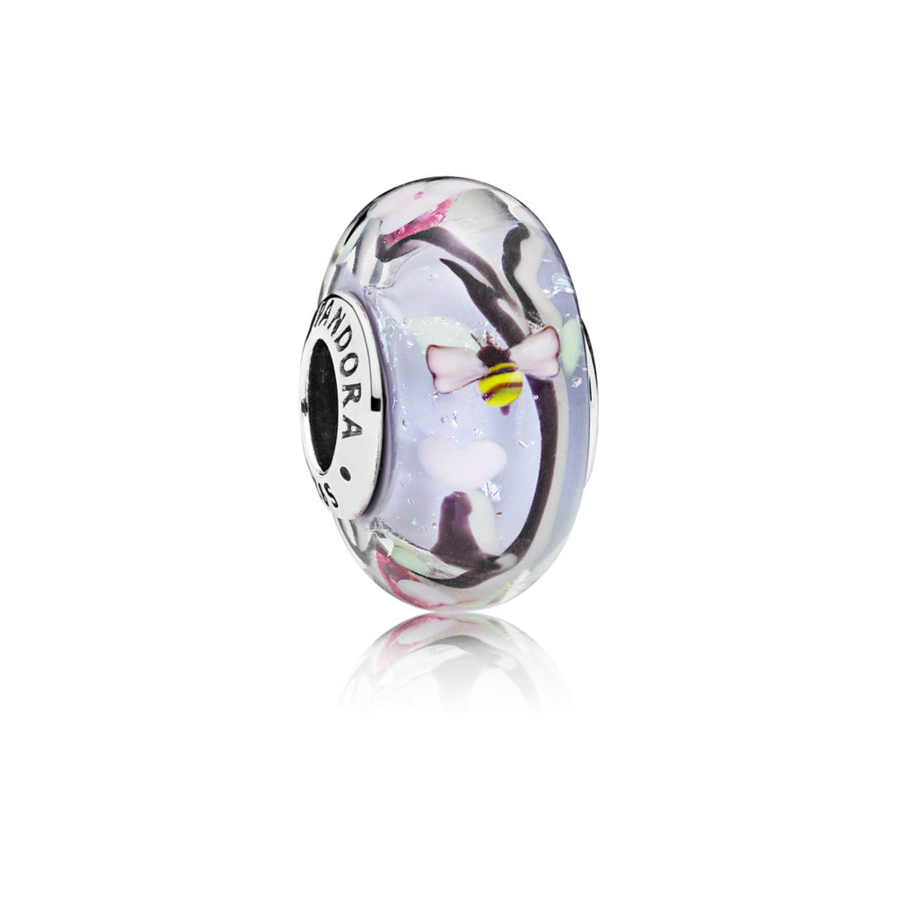 Enchanted Garden Murano Glass Charm - Pandora Jewelry Las Vegas