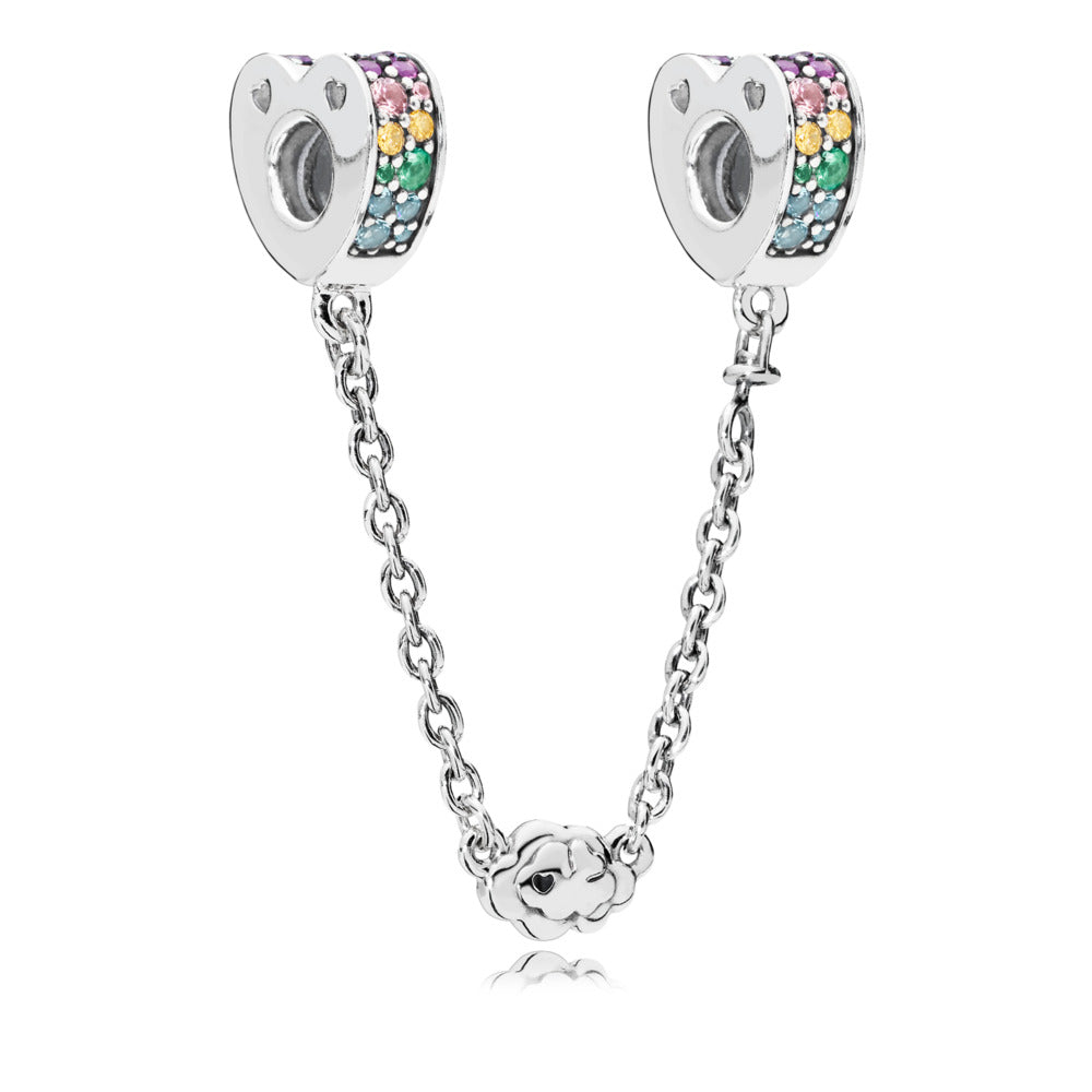 Arcs Of Love Safety Chain - Charm - Pandora Las Vegas Jewelry